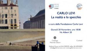 Invito- mostra Carlo Levi La realtà e lo specchio