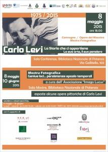 manifesto_evento Carlo Levi