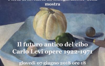 Mostra Il futuro antico del cibo – Carlo Levi  opere 1922-1971